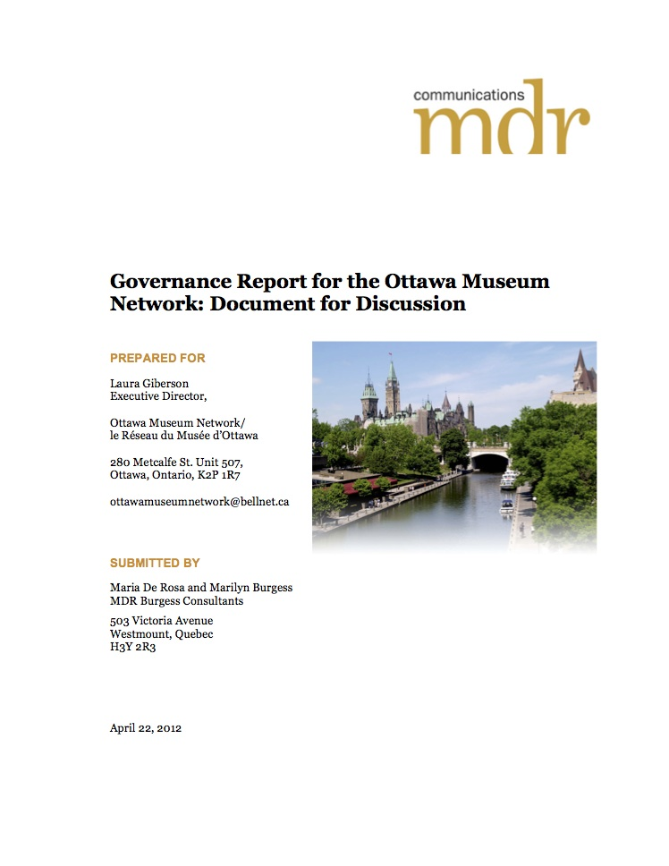 cover page-report-on-governance-omn